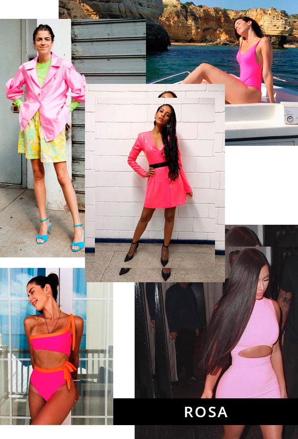 Leandra Medine, Camila Coutinho, Taís Araujo, Kim Kardashian - neon - neon - verão - street-style